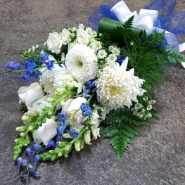 Blue Presentation Bouquet